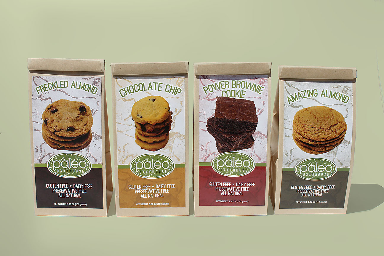 Paleo Bakehouse - Packaging