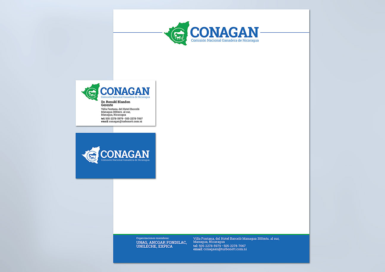 CONAGAN - Visual Identity