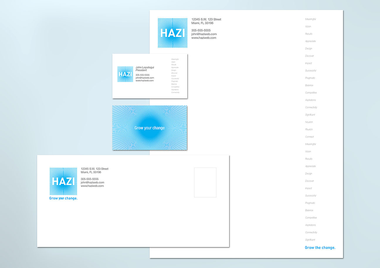 Hazi - Visual Identity