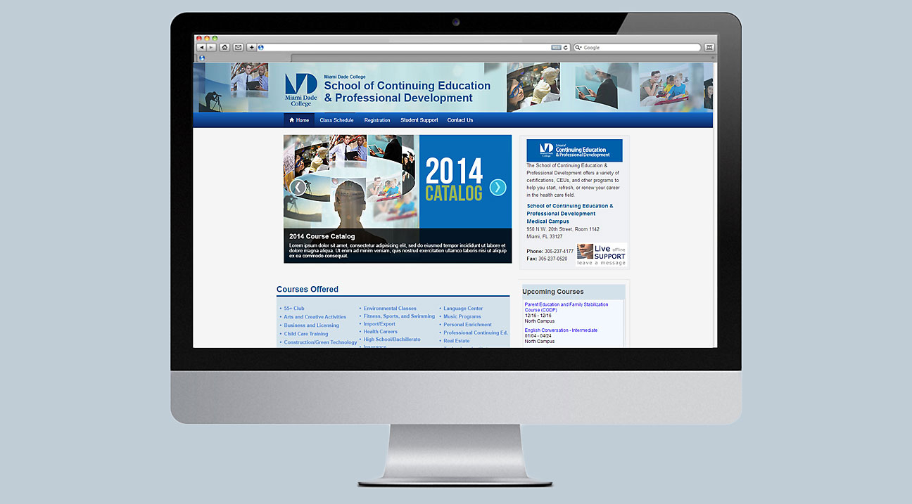 MDC - School of Continuing Education & Professional Development - Visual Identity